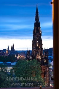 The Scott Monument by Brendan MacNeill